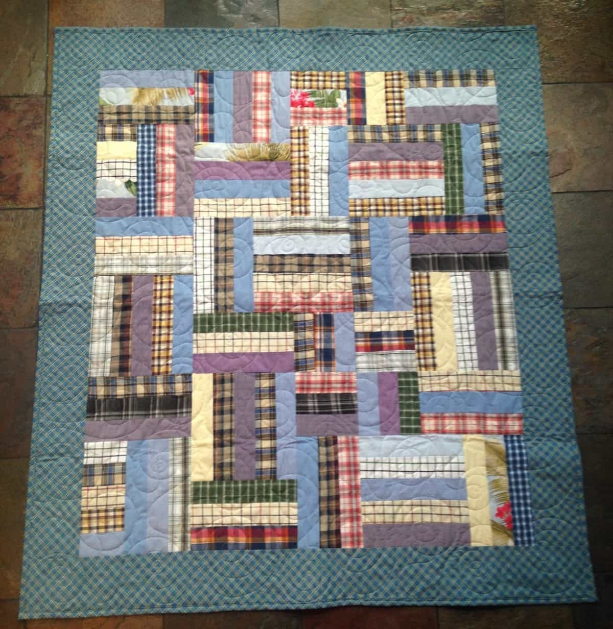 Custom patch style Quilt for client