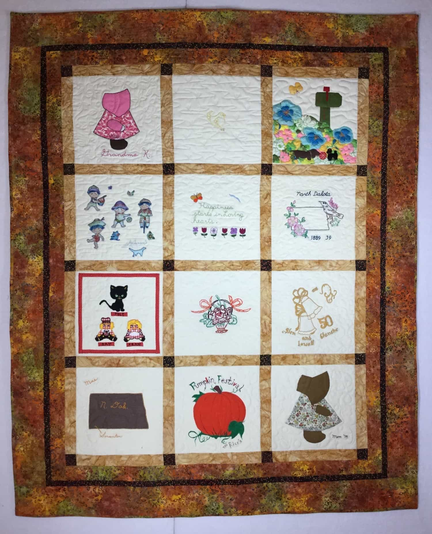 Custom Quilt for client