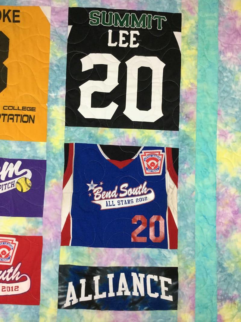 Softball T-shirt Quilt